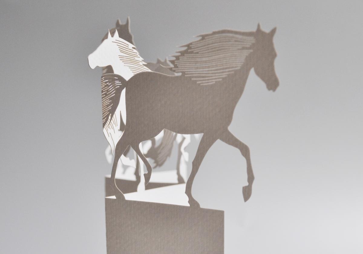 Horse Porigami